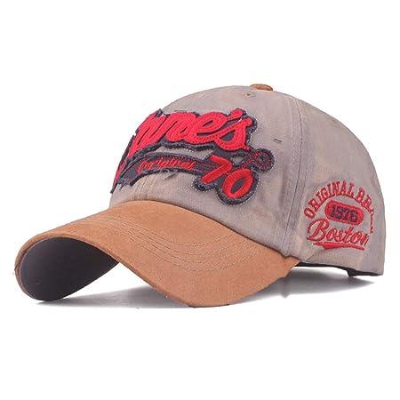 KFEK Gorra de béisbol Lavada, Bordado, algodón, Sombrero, Hombres ...