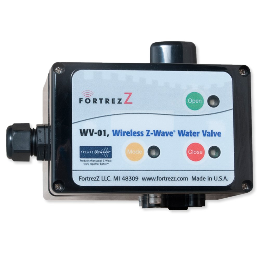 FortrezZ WV01ACTUS Z-Wave Indoor Automated Water Valve Actuator - US