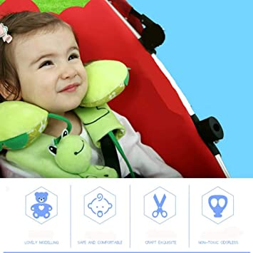 Black 2 Piece Baby Stroller Car Seat Strap Covers Universal Soft Seat Belt Cushion for Newborns Infants and Kids