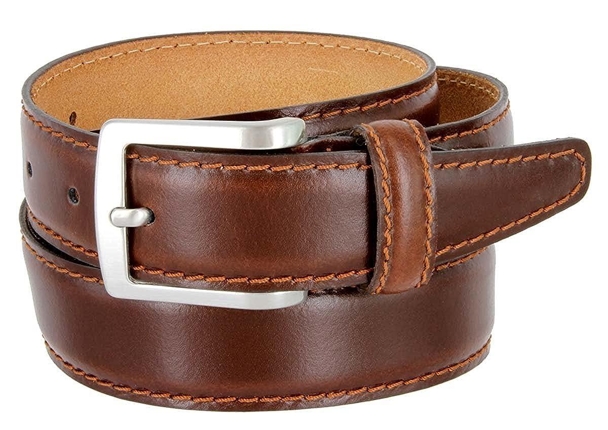 1191ec32a21d Hagora Men Real Italian Leather Stitched Edges 1-3 8