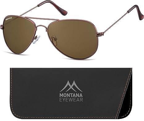 9c9889b483c93e Montana MP94, Lunettes de Soleil Mixte, Multicolore (Coffee + Brown  Lenses), Taille Unique  Amazon.fr  Vêtements et accessoires