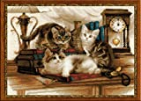 RIOLIS 1247 - Furry Friends - Counted Cross Stitch Kit 15.75