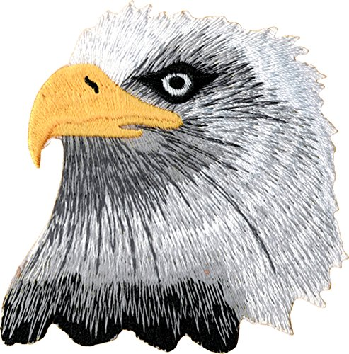 UPC 787718064974, Bald American Eagle Embroidered Iron On Patch CD3540 by Cool-Patches