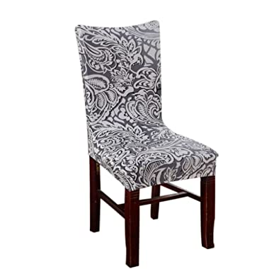 Sunbu Dining Room Stretch Printed Chair Cover Protector Seat Slipcover Color 2
