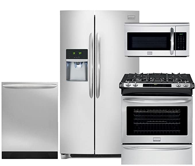 Frigidaire Gallery 4-Piece Smudge-Proof Stainless Steel Package, FGHC2331PF  36\