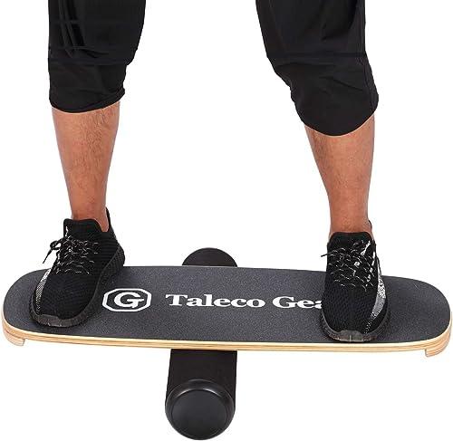 Taleco Gear Balance Board Wooden Wobble Board