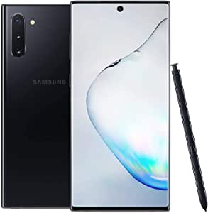 Samsung Galaxy Note 10, 256GB, Aura Black - for AT&T/T-Mobile (Renewed)
