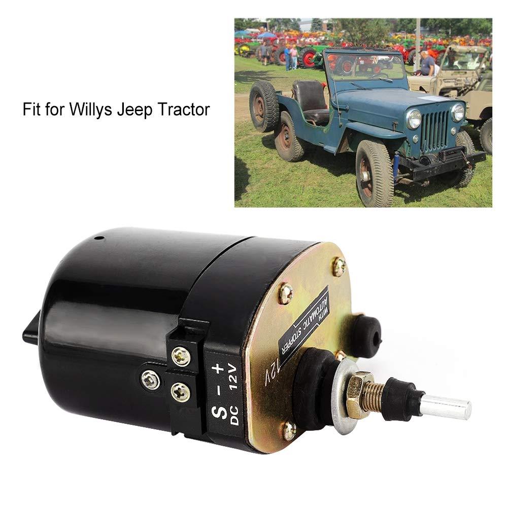 12V Auto Windschutzscheibe Scheibenwischermotor f/ür Traktor 01287358 7731000001 Auto Wischermotor