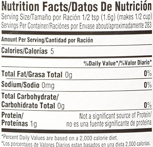 Amazon.com : Unflavored Knox Original Gelatin, 16-Ounces Cans(1 lb) - Pack of 4 : Gelatin Dessert Mixes : Grocery & Gourmet Food