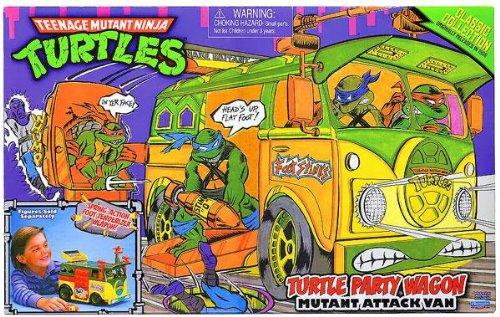 Teenage Mutant Ninja Turtles - Turtle Party Wagon (Mutant Attack Van) (Teenage Mutant Ninja Turtles Van)