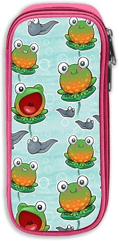Frog Color Pen Case Bag Stationery Kit