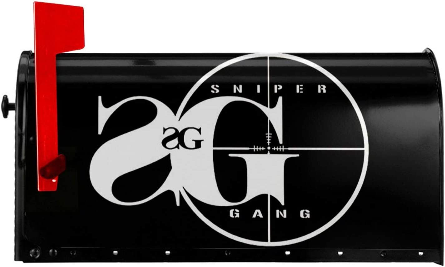 Just789 Sniper Gang Mailbox Cover Sticker Decoration Rainproof and Moistureproof Fashion