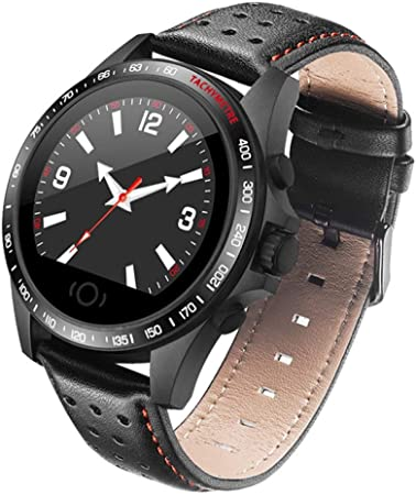 HOYHPK Bluetooth Smartwatch Sport Fitness Brazalete De Cuero ...