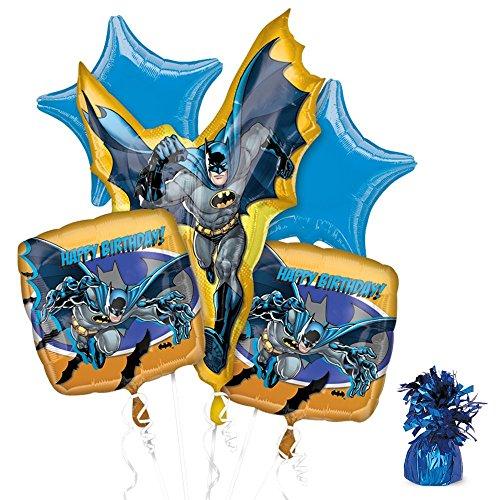 [Costume Supercenter BB102111 Batman Party Balloon Kit] (Costume Party Ideas For Men)