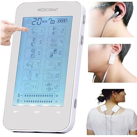 Amazon.com: Hipertensión Presión arterial Tratamiento Medicomat * Terapia Total Dispositivo Electro Acupuntura Tratamiento Terapia: Health & Personal Care