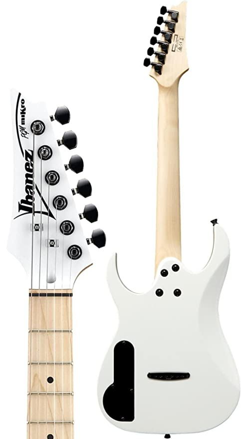 Ibanez PGMM31-WH Paul Gilbert Mikro · Guitarra eléctrica: Amazon.es: Instrumentos musicales