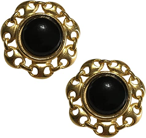 """""""Cleopatra"""" Jewelry Collection, Bold, Heavy Large Clip-on Earrings, Earrings Sets"""