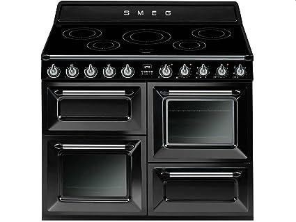 nouveaux styles acda4 d2813 Smeg TR4110IBL Cuisinière Plaque avec zone à induction A ...
