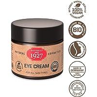 Gotthilf 1927 Eye Cream |Crème Contour Yeux 100% Naturelle |Source d'Acide Hyaluronique Naturelle |Huile de Graines de Brocoli |Hydratation Peau |Anti-Âge |Peau Lisse|Végétalienne|Lab. Certifié|25 ml