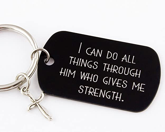 I Can Do All Things Through Him Who Gives Me Strength