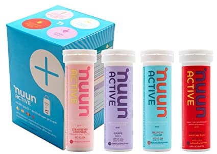 nuun active hydrating drink tablets juice box mix 4 count amazon rh amazon ca