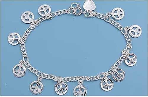 Jewelry Gift for Women and Girls Glitzs Jewels 925 Sterling Silver Necklace Italian Chain, Rope 100