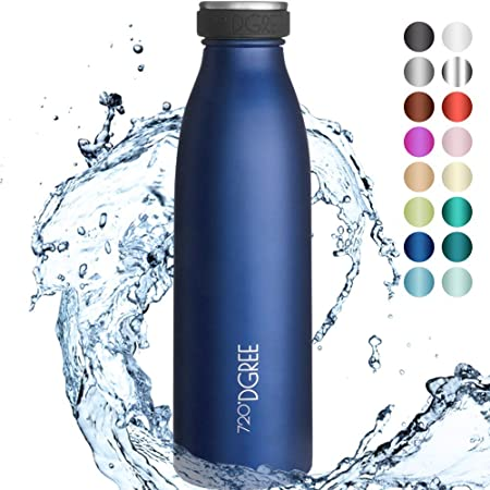 ⚙ TECNOLOGÍA DE PRECISIÓN DE DOBLE PARED - Gracias a su alta precisión, la botella de vacío más comp