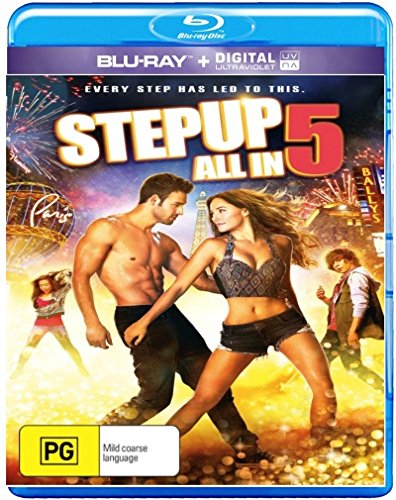 Step Up 5 Movie Collection Step Up / Step Up 2 / Step Up 3 / Step Up 4 / Step Up 5 Blu-ray
