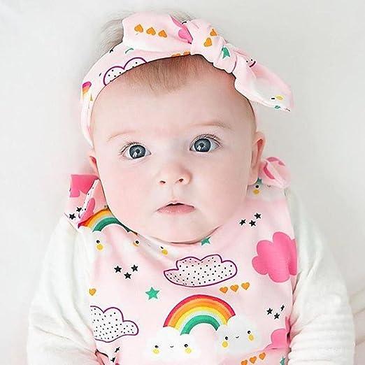 97a21b1f4edd Amazon.com  Newborn Infant Toddler Baby Girls One Piece Romper Jumpsuit  Cuekondy Cute Rainbow Clouds Print Bodysuit Summer Outfit Clothes  Clothing