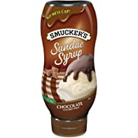 Smucker's  Sundae Syrup Chocolate Flavored Syrup, 20-Ounce (Pack of 6)