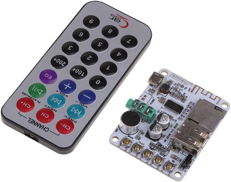 Almencla Tablero del Amplificador Esté Bluetooth del Receptor ...