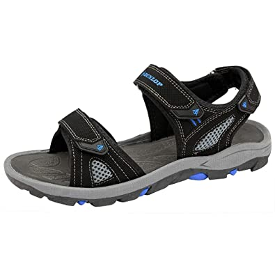 2b84c05c1 Dunlop Mens Sports Walking Touch Close Strap Summer Sandals Size UK 6-12 (7
