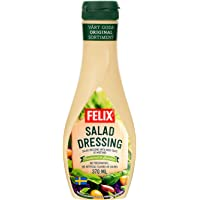 FELIX 菲力斯 原味沙拉调味酱 蔬菜水果沙拉酱370ml 挤压瓶更方便 各式沙拉均可搭配(瑞典进口)