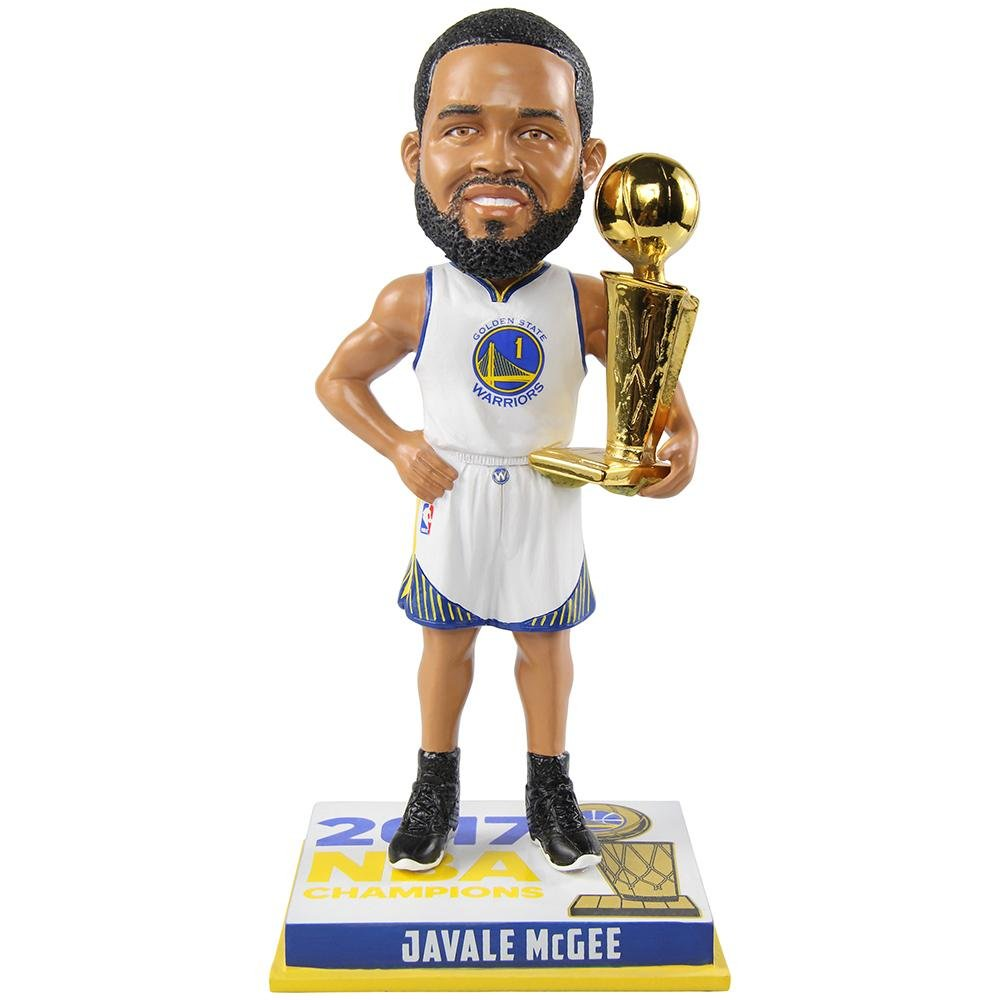 FOCO Golden State Warriors McGee J. #1 2017 NBA Champions 8'' Bobble