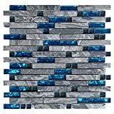Art3d Decorative Tile for Kitchen Backsplash or Bathroom Backsplash (5 Pack)