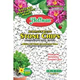 Hoffman 14102 Decorative Soil Covers Alabaster Blend Stone Chips, 2 Quarts