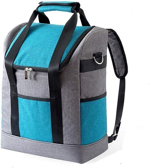 Lunch Bag, Large Outdoor Picnic Bag Ice Pack Portable Oxford Cloth Cold Storage Fresh Picnic Bag Insulation Bag: Amazon.es: Hogar