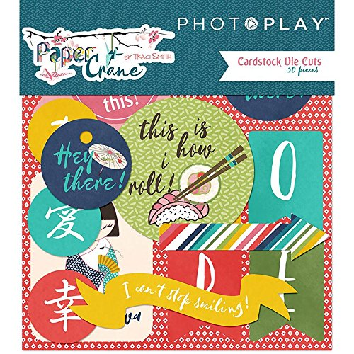 Paper Crane PC8805 Cardstock Die-Cuts, Multicolor
