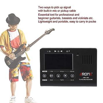 Lorenlli Fit Aroma AMT-560 3 en 1 generador de tono de metrónomo con sintonizador