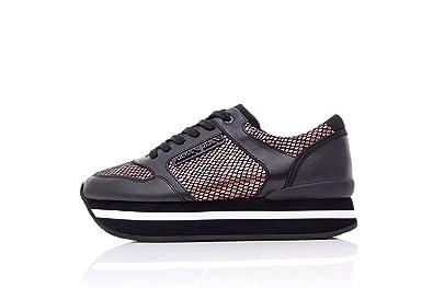 Armani Jeans 925187 7A677 Runner Baskets Sneakers Femme Sneakers 37 Noir a7de84de806f