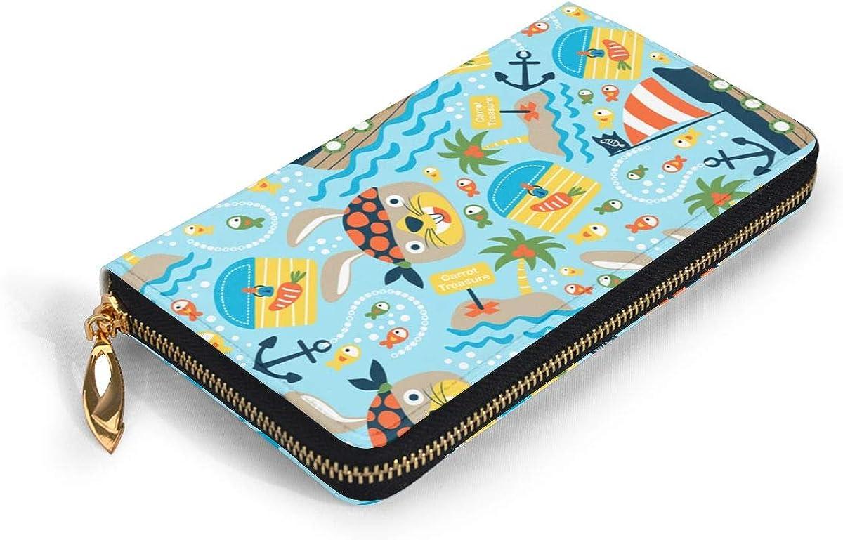Sailboat Anchor Womens New Design Purse Clutch Bag Card Holder New Fashion Wristlets Wallets