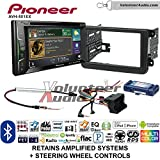 Pioneer AVH-501EX Double Din Radio Install Kit with DVD/CD Player Bluetooth Fits 2012-2014 Volkswagen Beetle, 2010-2014 Golf, 2006-2015 Jetta