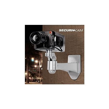 Bitblin - Cámara de Vigilancia con Sensor de Movimiento Diurno y Movimiento, Color Blanco y