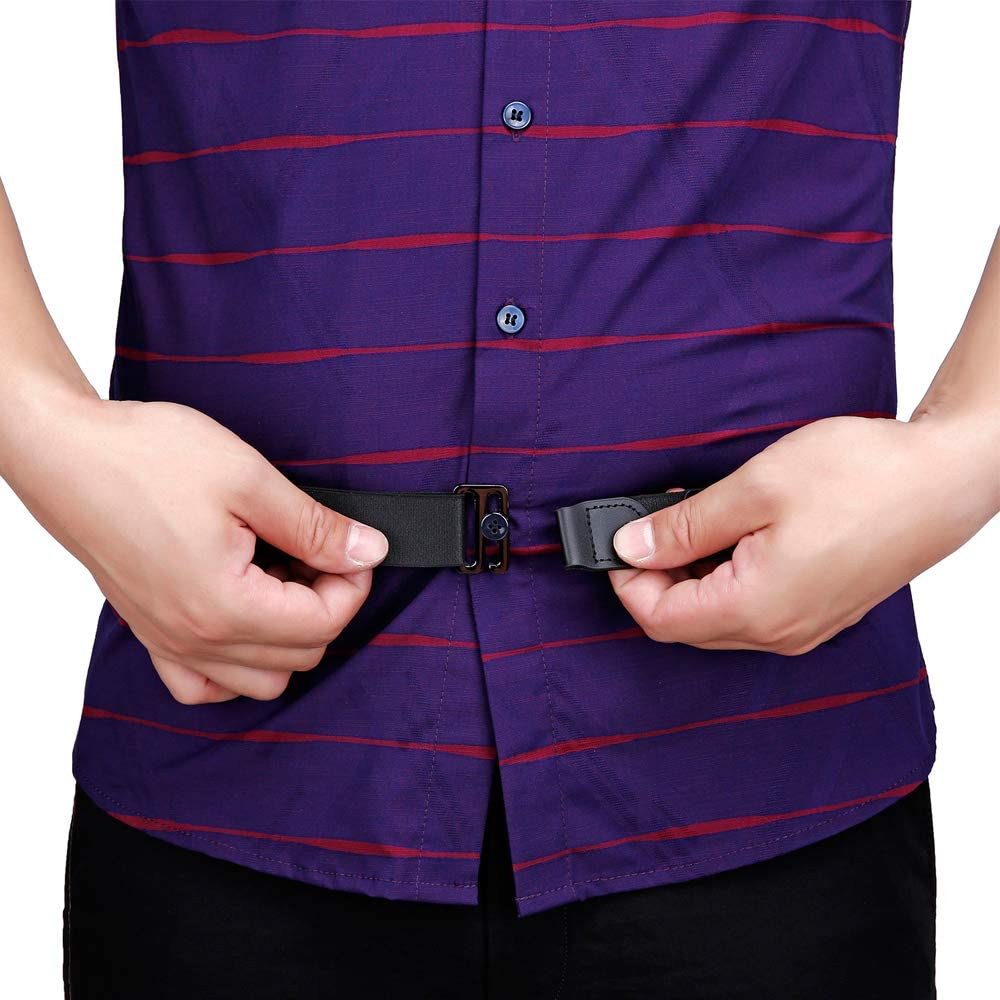 Details about  /Suspenders Tuck Belt The Shirt Slim Fit Tucker Unisex Adjustable Near Shirt Stay