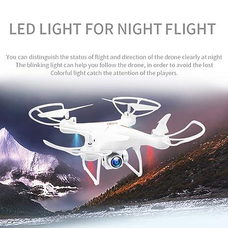 ASD Drone con Cámara HD 1080P Mini Lente Gran Angular FPV ...