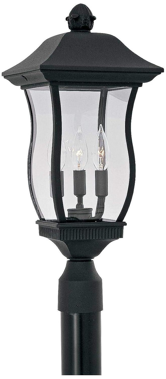 Designers Fountain 2726-BK Chelsea 9 Inch Post Lantern