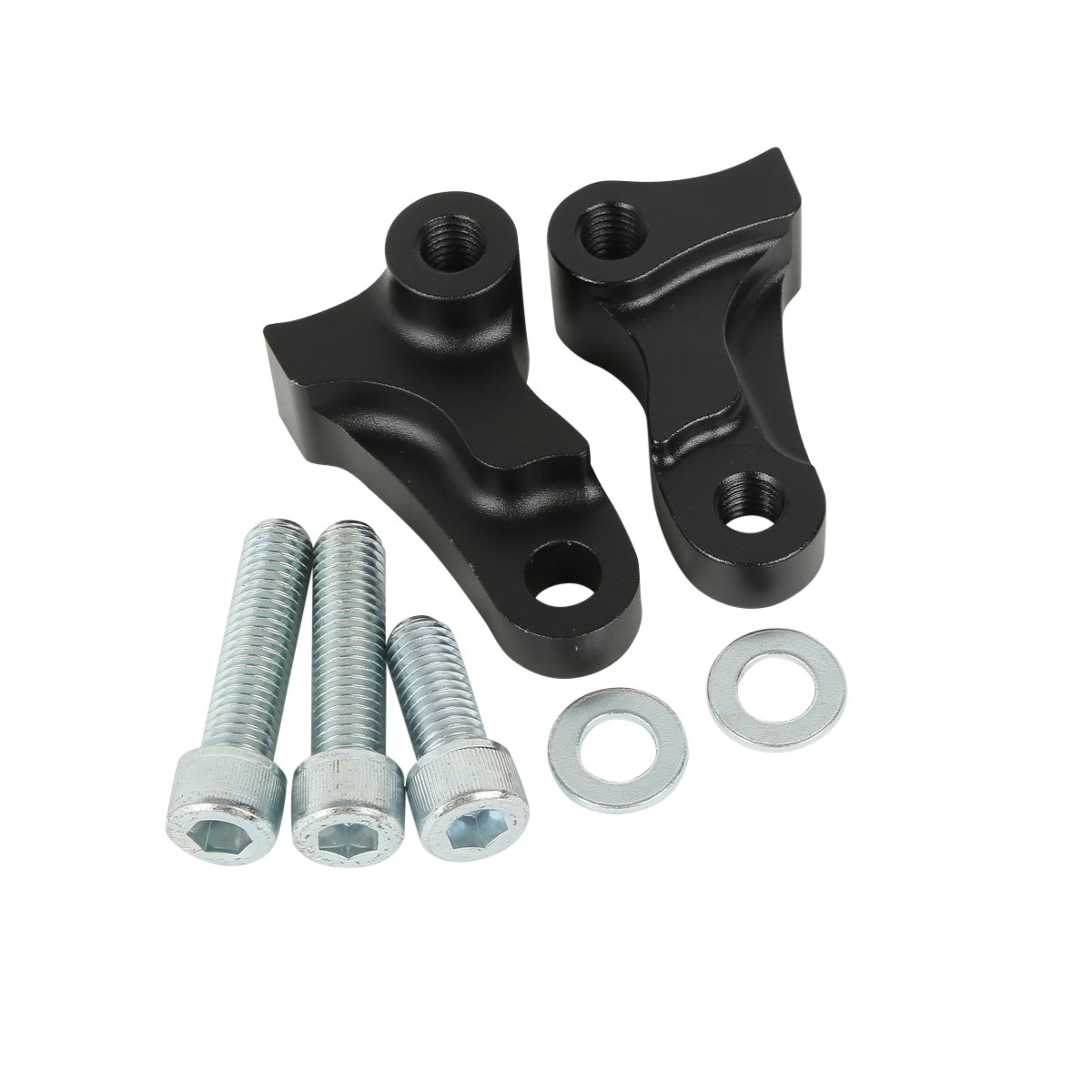 XMT-MOTO 1.75 1-3//4 Rear Drop Lowering Kit fits for Harley Davidson Dyna Models 2006 2007 2008 2009 2010 2011 2012 2013 2014 2015 2016 2017