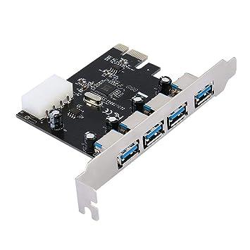 Adaptador de Tarjeta PCI PCI-E PCI-E USB 3.0 SuperSpeed ...