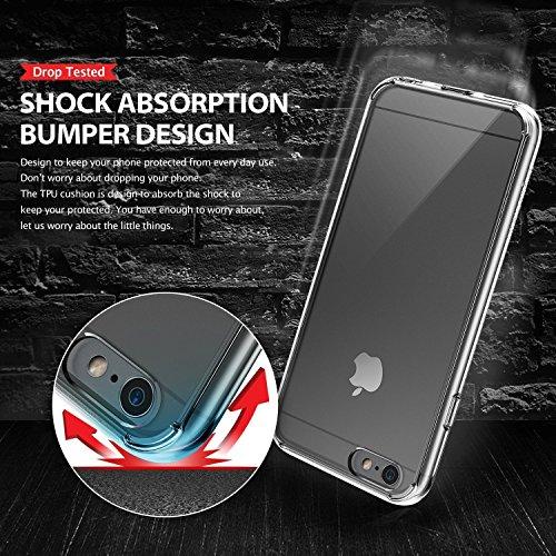 Ringke FUSION Case iPhone 6 Plus / 6S Plus Hülle Case [Neu Staub Kappe][CRYSTAL VIEW] Premium Shock Absorption Bumper Hard Case Hülle für Apple iPhone 6 Plus Case