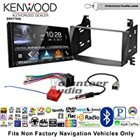 Volunteer Audio Kenwood DMX7704S Double Din Radio Install Kit with Apple CarPlay Android Auto Bluetooth Fits 2009-2010 Hyundai Sonata